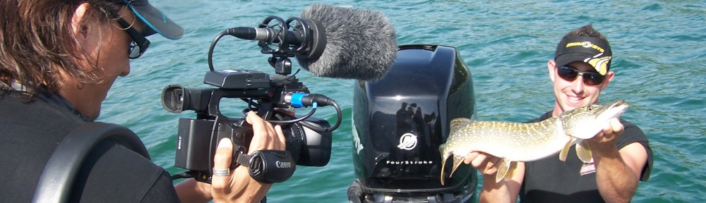 reportage pour la web TV  Pêche TV