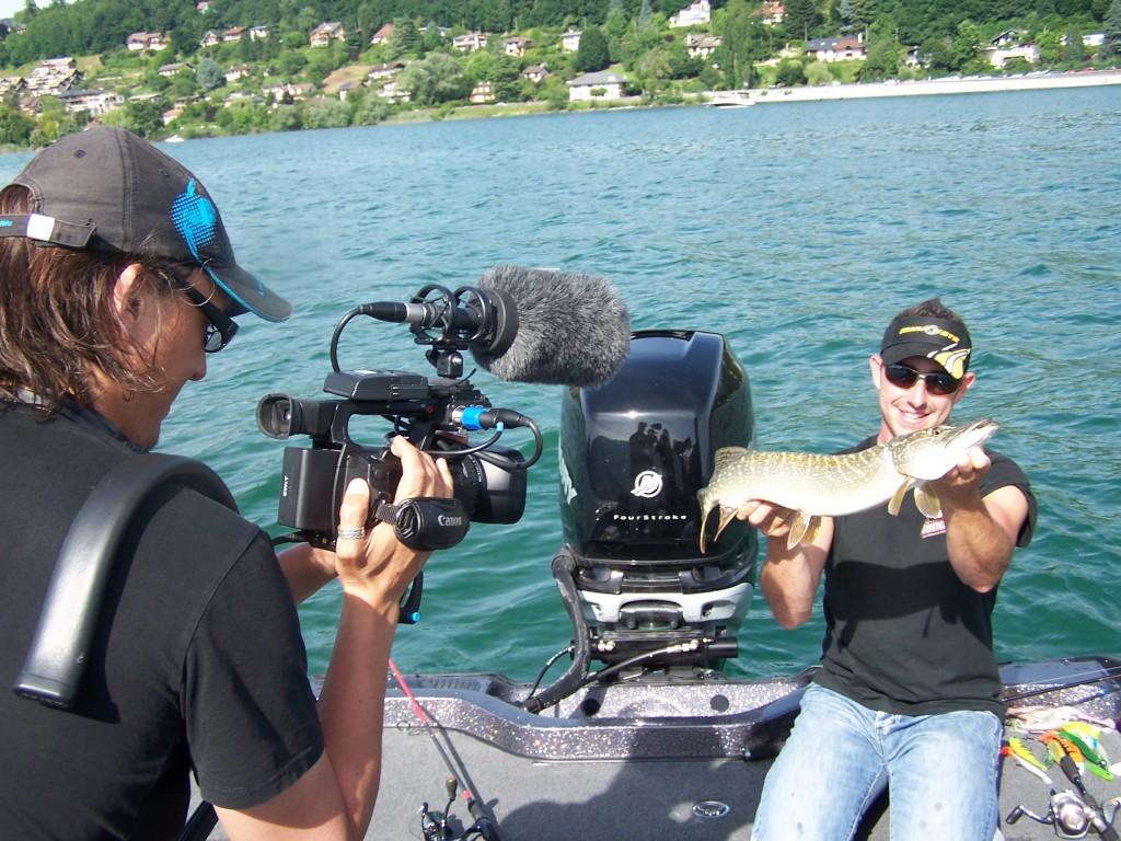 Jimmy Maistrello, guide de pêche en Savoie Haute Savoie