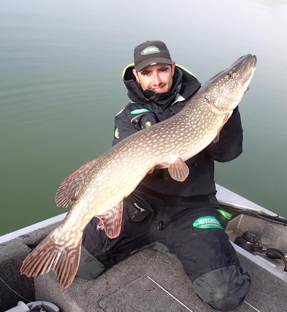 guidage pêche au lac du Bourget