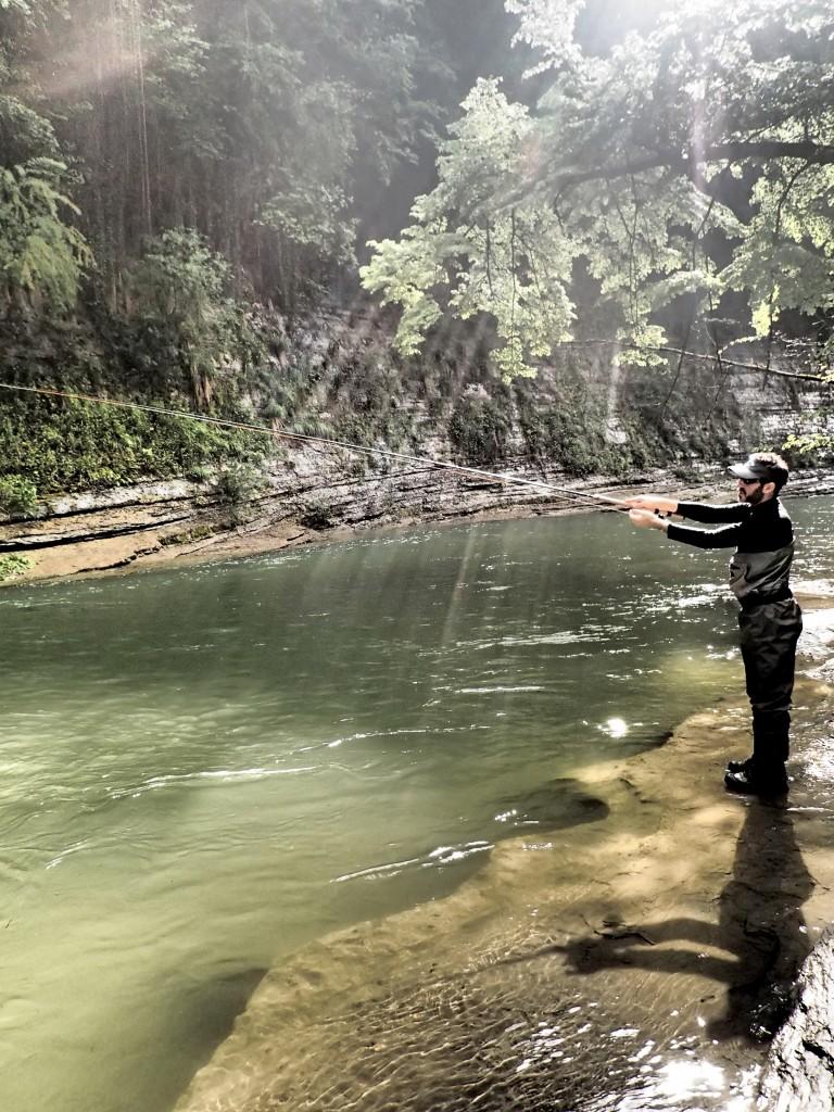 peche en Savoie en rivière