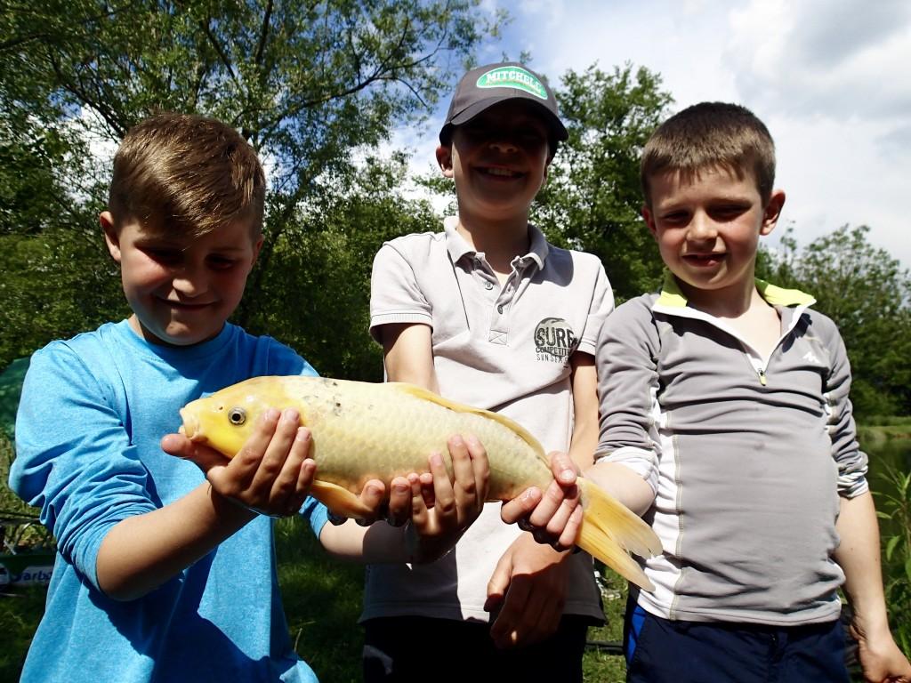 peche en Savoie stage de pêche enfant