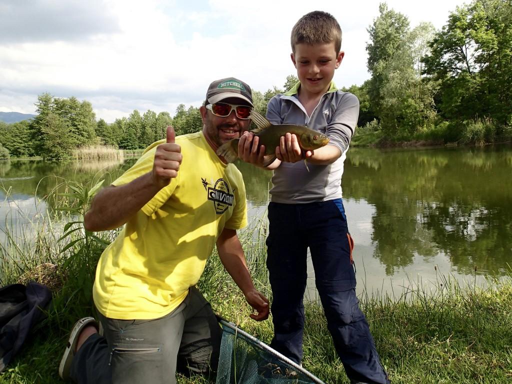 stage de pêche enfant en Savoie