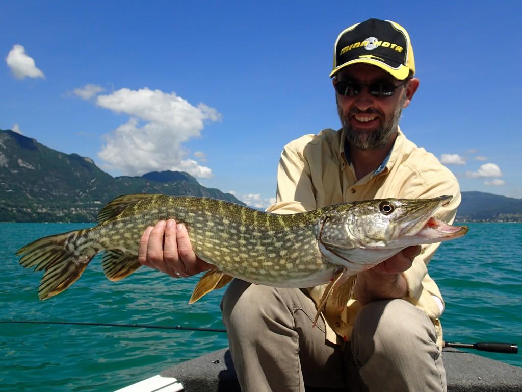 pêche au lac du bourget savoieguidage