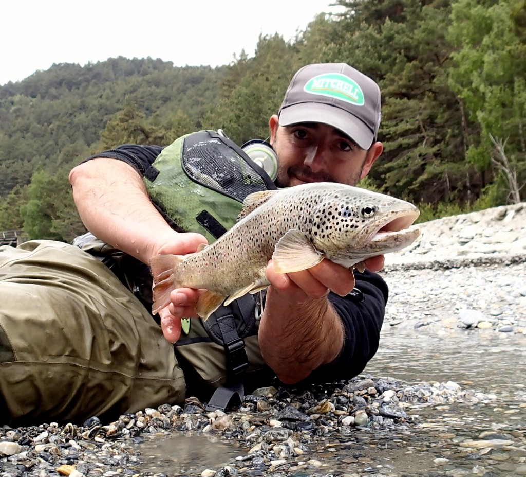 guide de pêche truite en savoie