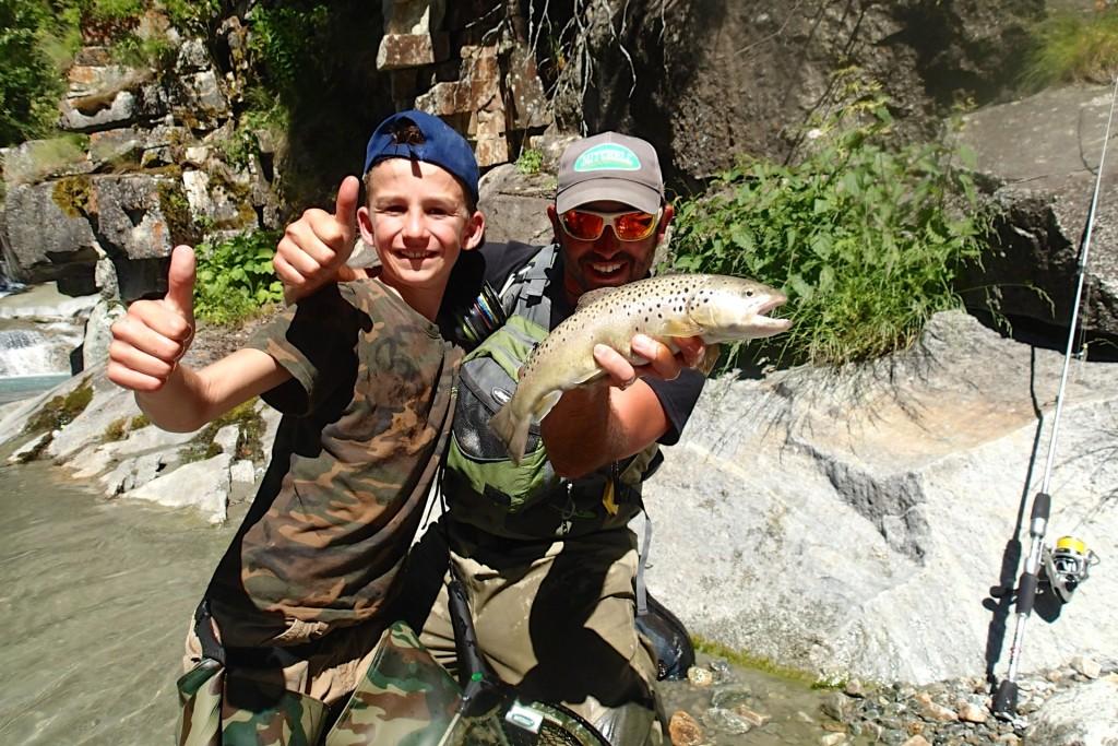camp de pêche ados enfants