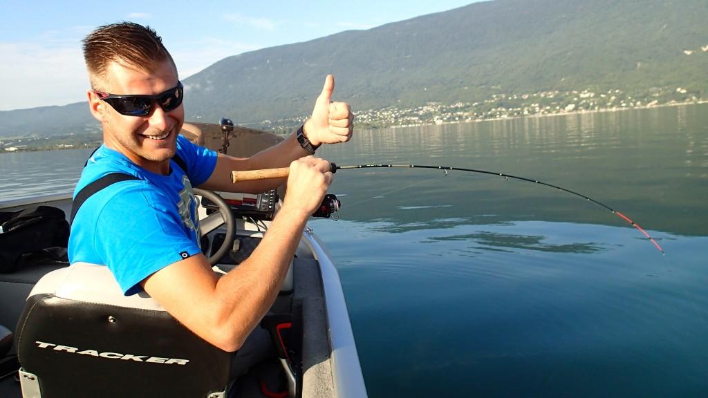 pêche des lavarets au lac du Bourget