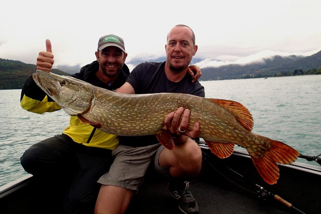 guide de pêche au lac d'Annecy, lac Alpins, Bourget , Léman