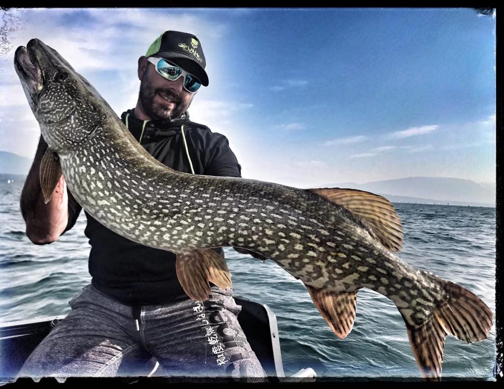pêche du brochet au lac du Bourget-Annecy-Leman