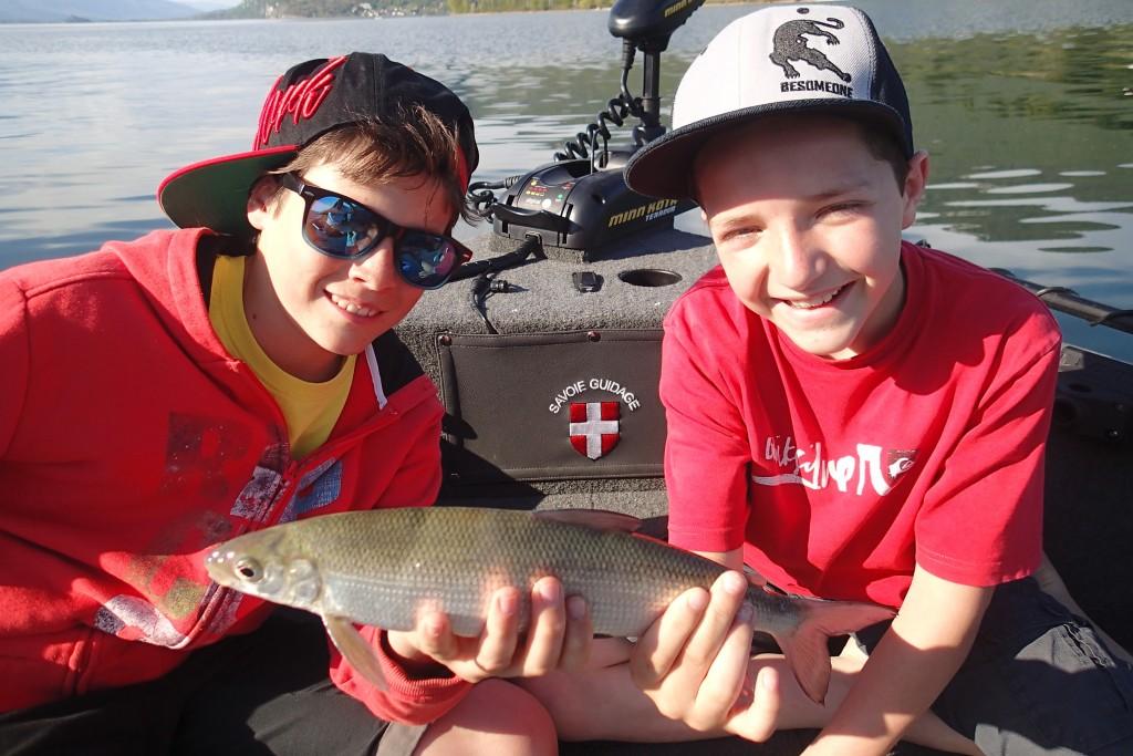 Stage pêche enfants ados