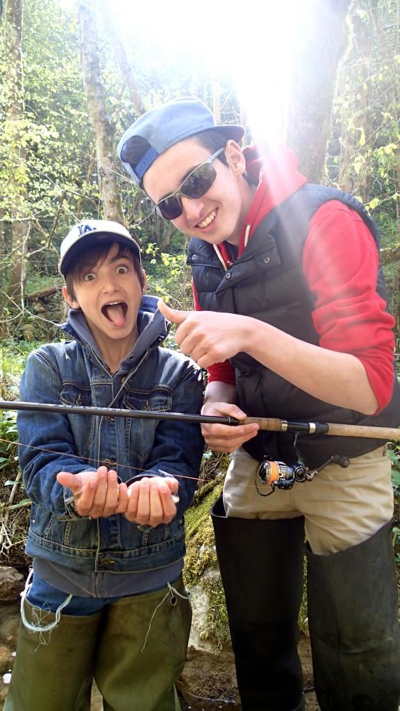 stage pêche ado enfant