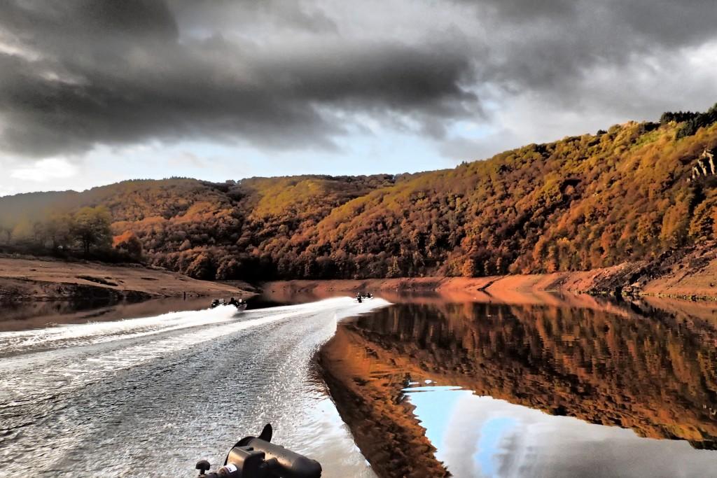 Pêche du sandre barrage de Villerest