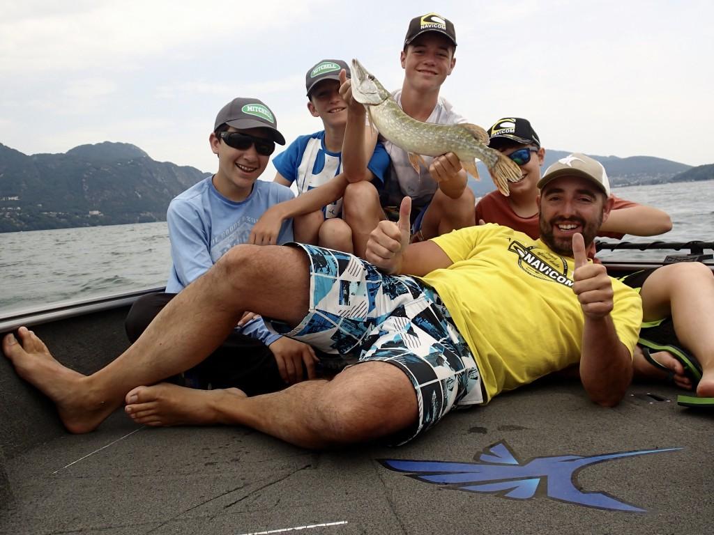 stage de pêche en Savoie avec Jimmy Maistrello
