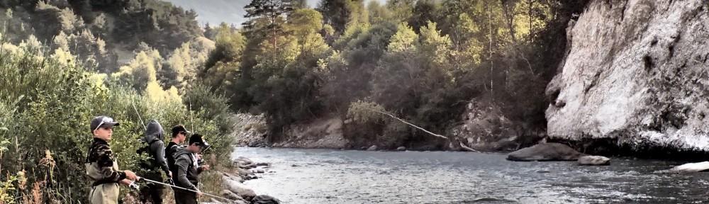 colonie de pêche en Savoie